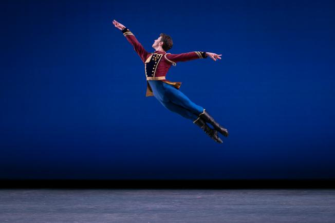 Joshua Jack Price dancing with the San Francisco Ballet