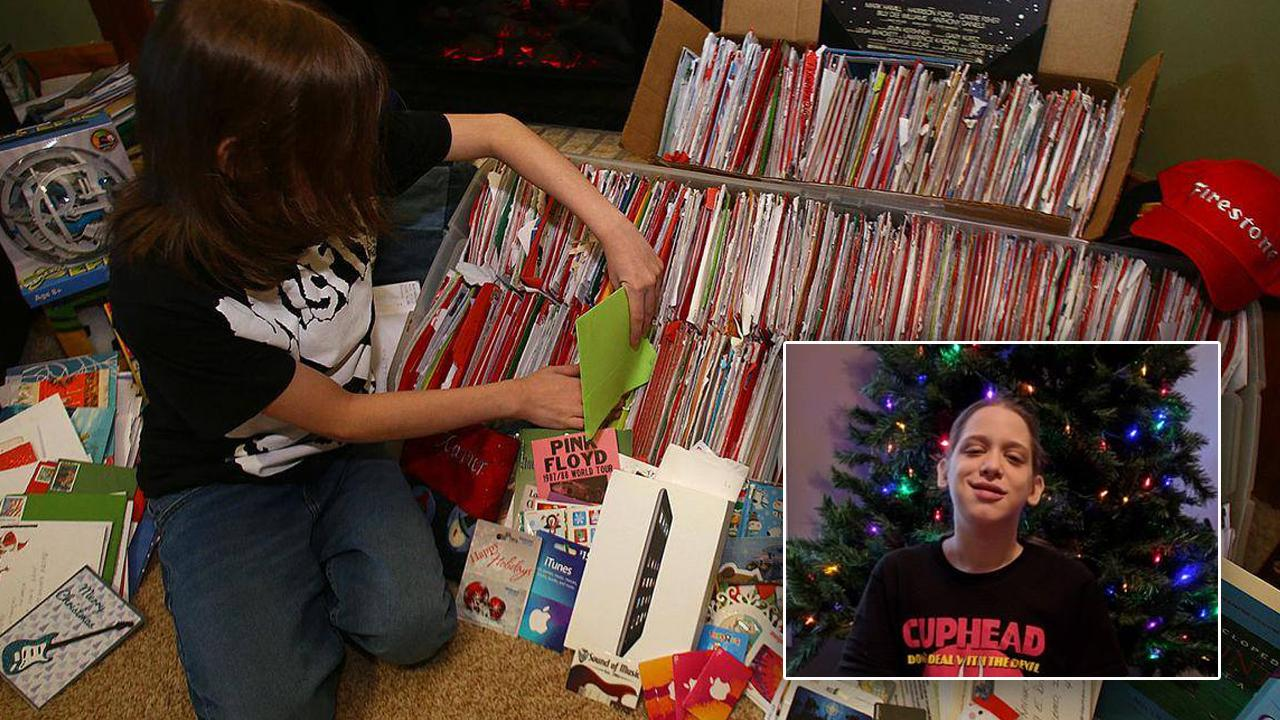 14-Year-Old Asks for Christmas Cards to Raise Awareness for Orga ...