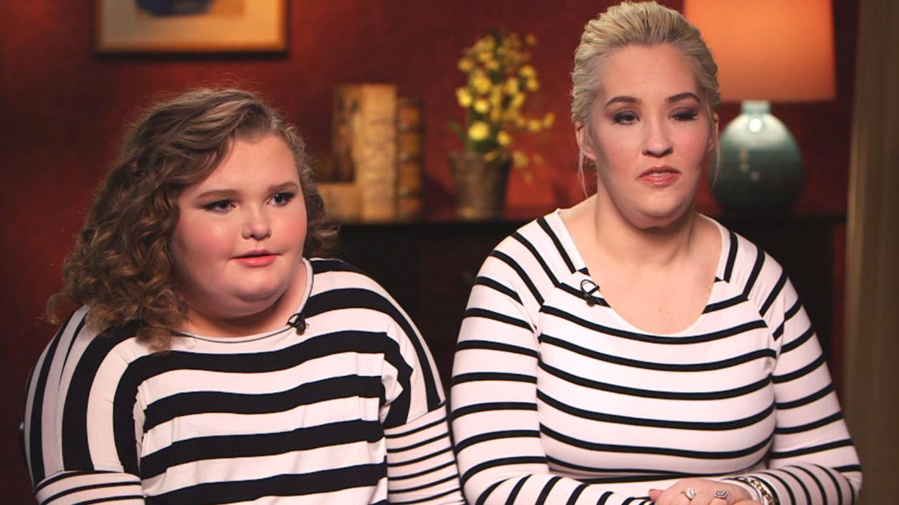 Inspired By Mom S Drastic Weight Loss Honey Boo Boo Says