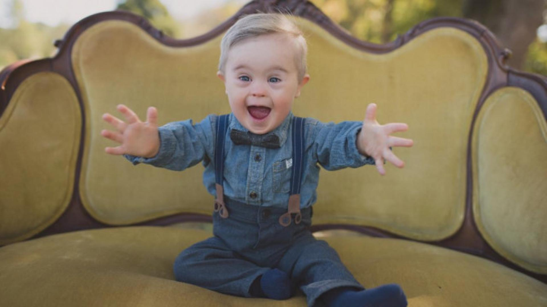 Baby With Down Syndrome to Model for Ad Campaign Despite Once Being  Excluded From Casting | Inside Edition