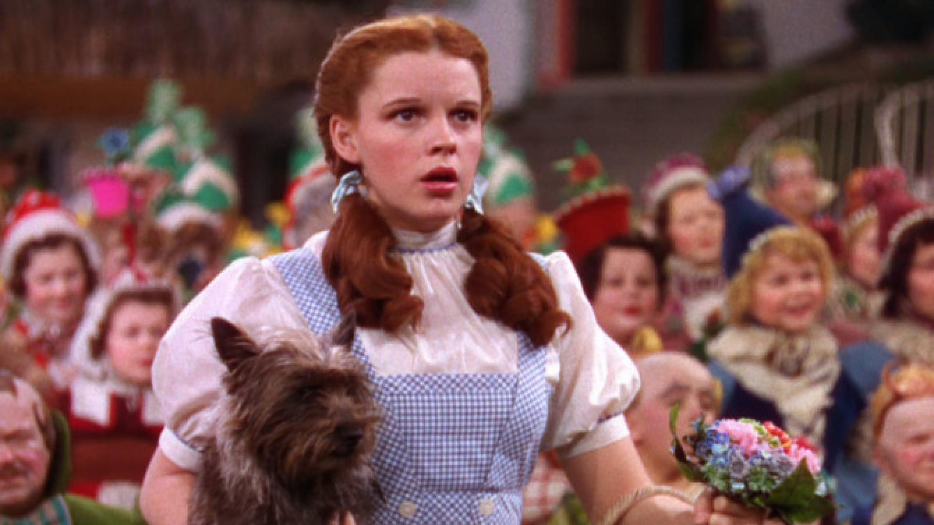 Manhandled By Munchkins Judy Garland Molested On Wizard Of Oz Set Book Claims Inside Edition