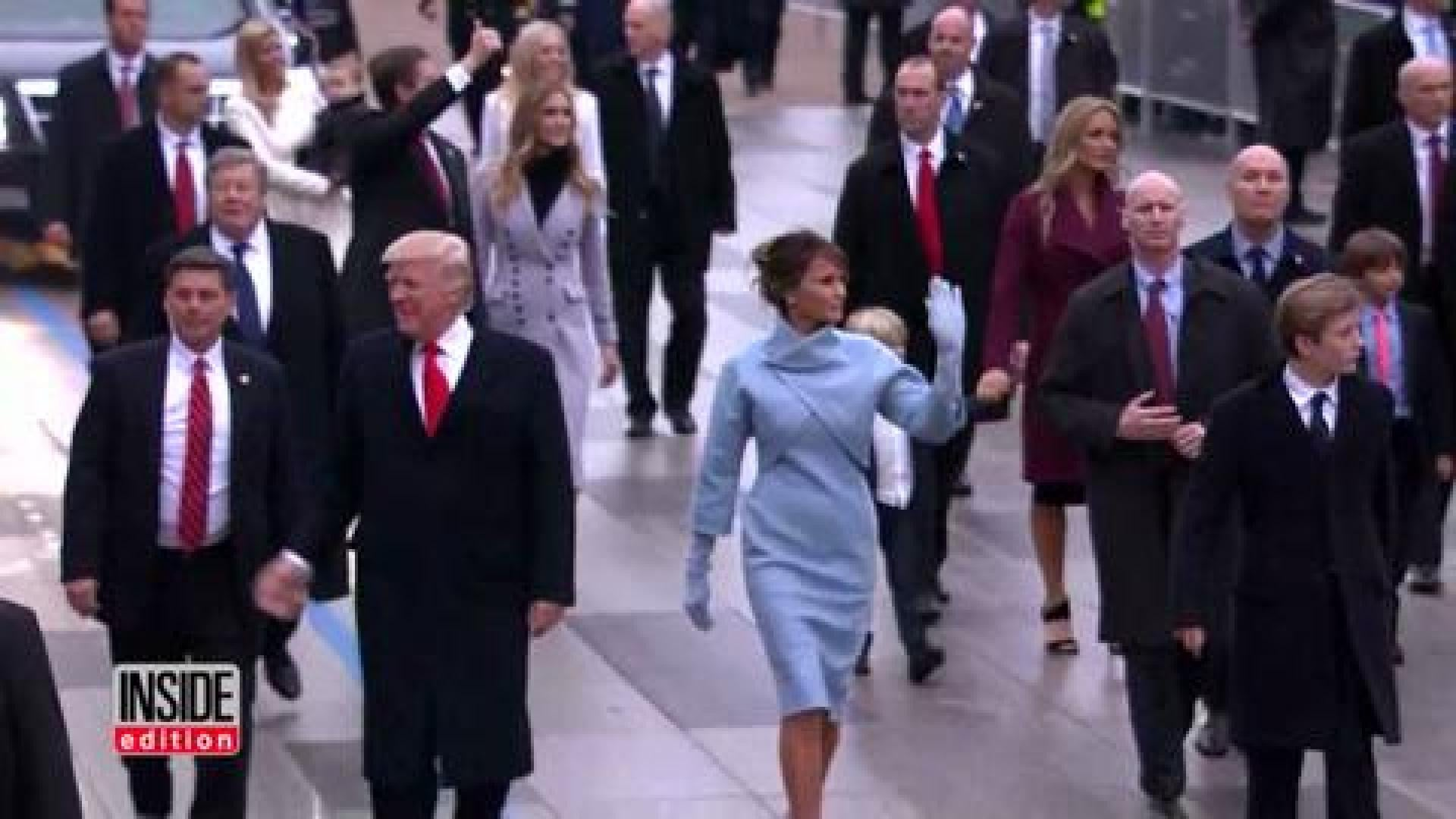 Agent Fake did secret service agent wear a fake hand to inauguration so