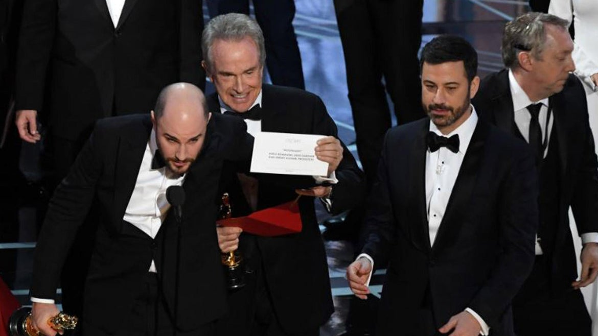 A look at Oscar flubs and controversies.