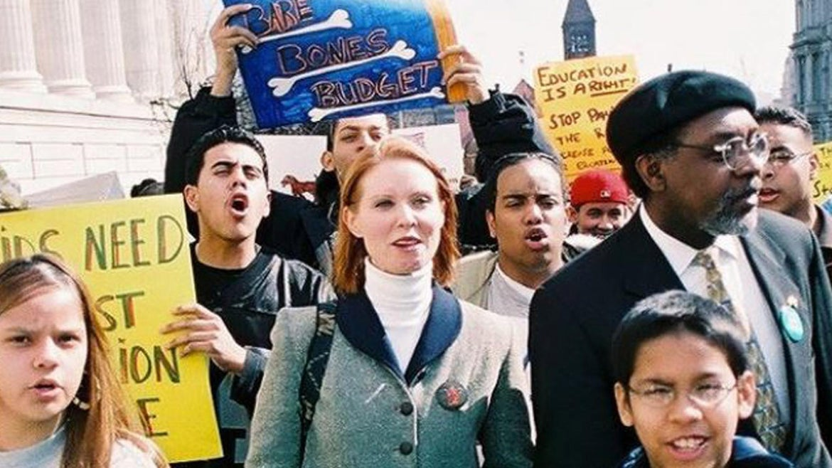 Cynthia Nixon is running for New York governor.