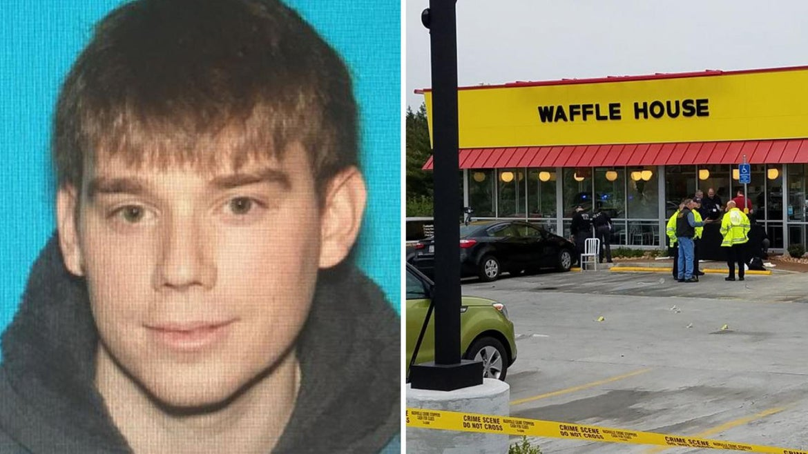 The suspect in a shooting that killed four people at a Tennessee Waffle House was arrested last year for being in a restricted area near the White House, authorities said.