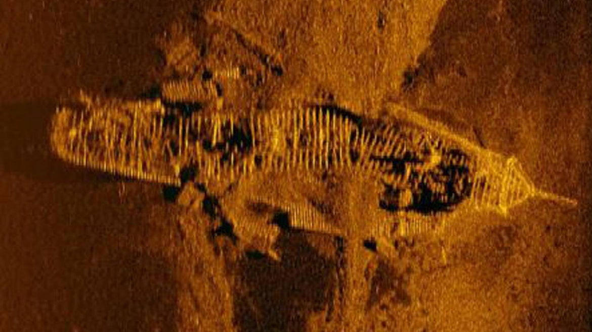 The search for the remains of Malaysia Airlines flight MH370 have yielded two shipwrecks.