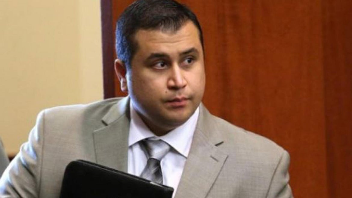 George Zimmerman during his 2013 criminal trial for the shooting of Trayvon Martin.