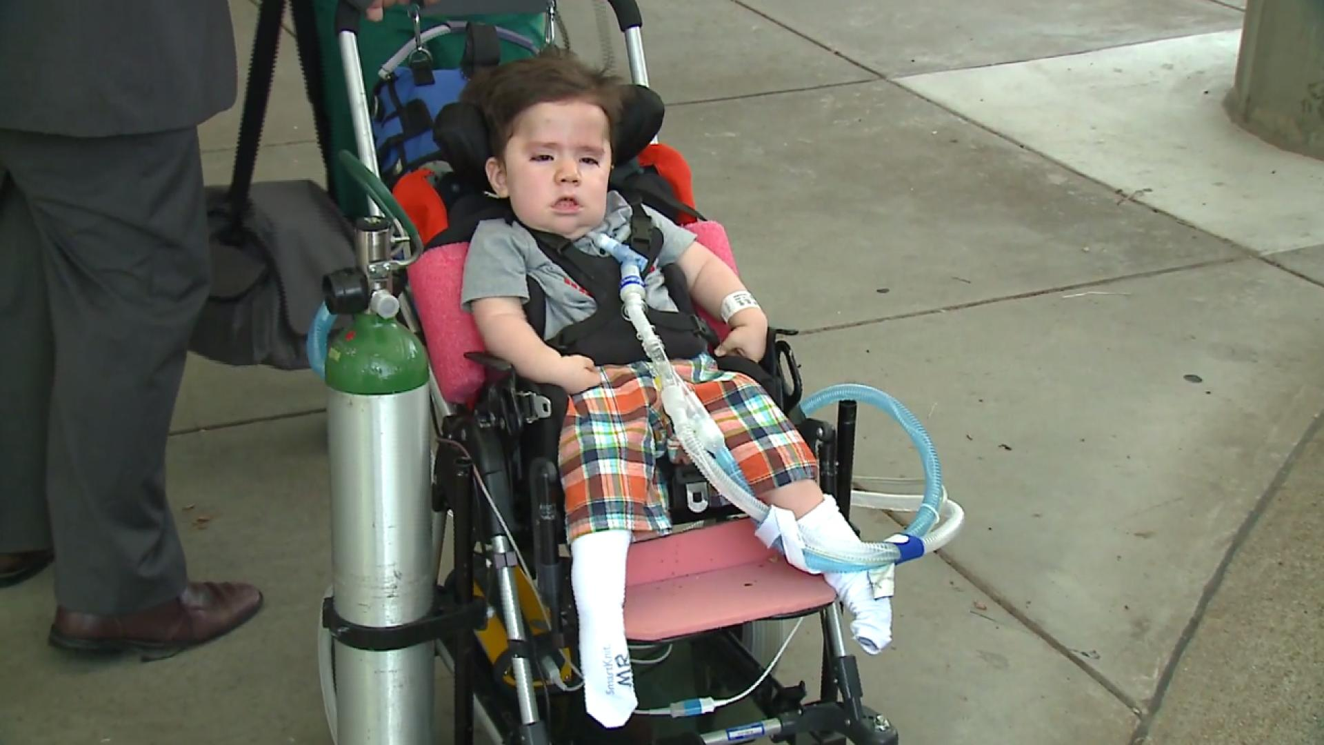 Boy With Genetic Disorder Goes Home
