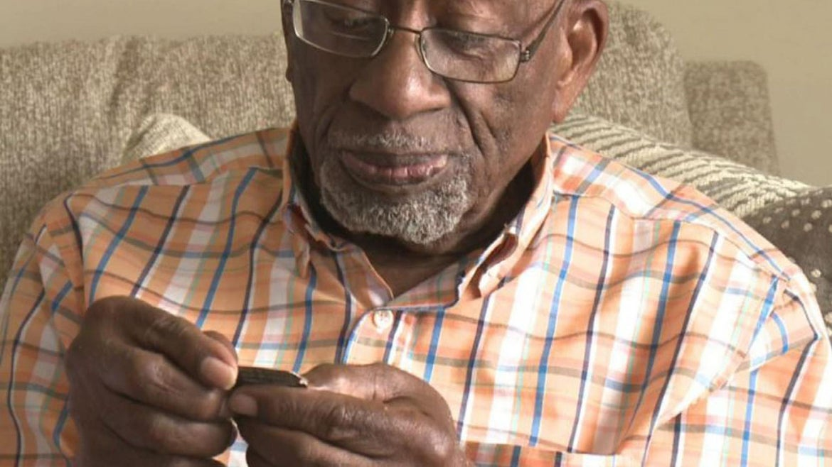 Ronald F. Gaines regained a piece of history and himself.