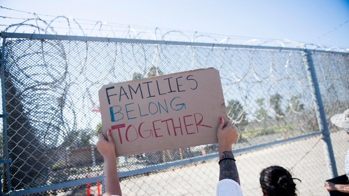 Immigrant families separated
