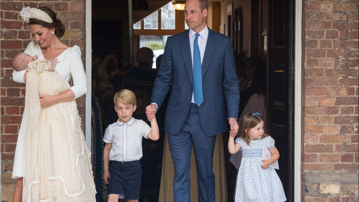 It may have been Prince Louis' christening, but it was her big sister Princess Charlotte's sassy off-hand remark that stole the show.