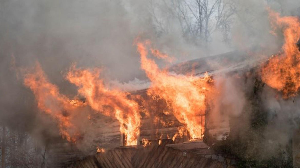 Police say a 5-year-old boy set fire to his family's home.