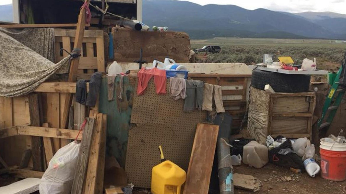 """The children were found living in alleged """"filthy"""" conditions and with hardly any food."""