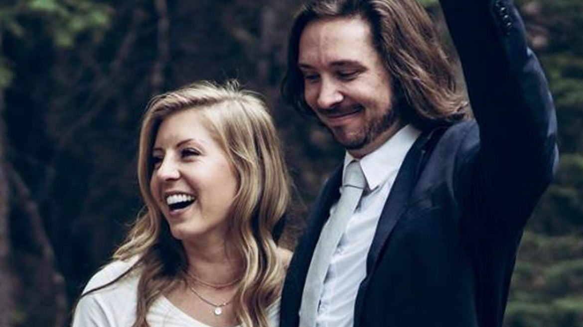 Amy Moffat, 28, and Stephen Graham, 30, were driving to Whistler, British Columbia for their honeymoon when their car veered off the road near Yakima in Washington State about 7:30 p.m. Sunday.