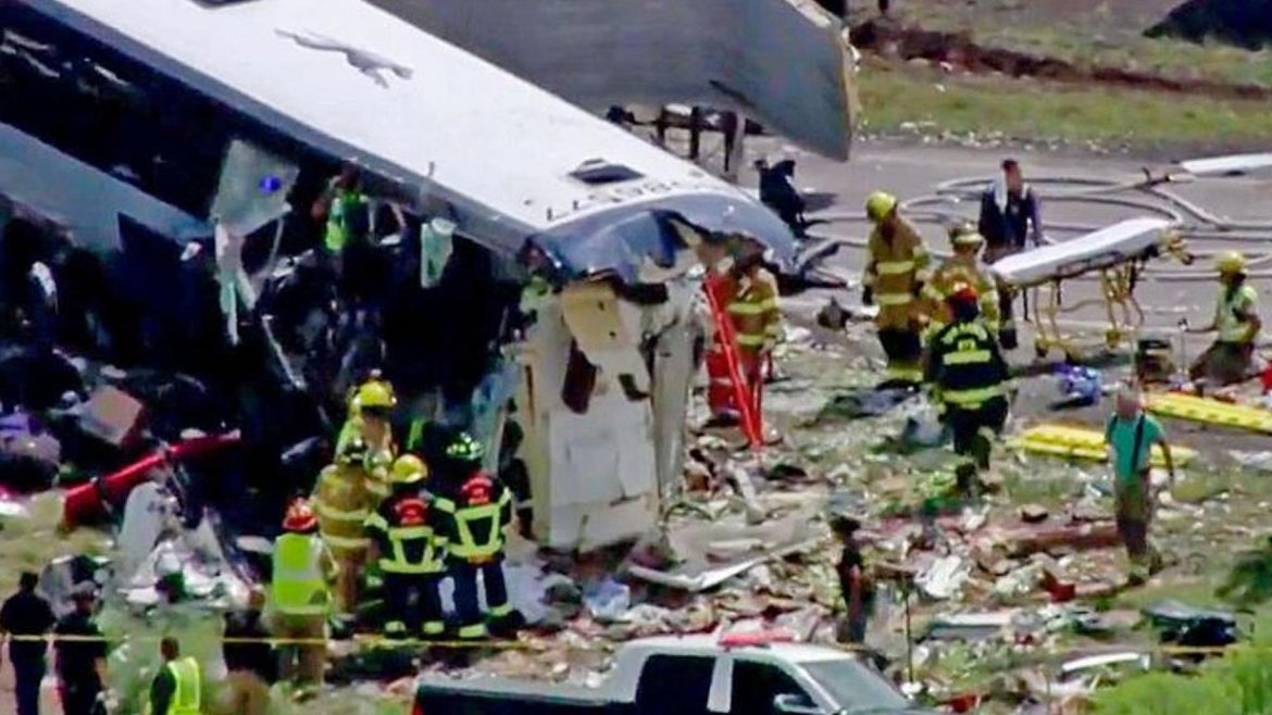 Hours after New Mexico's deadly bus crash, a woman gave birth to twins.