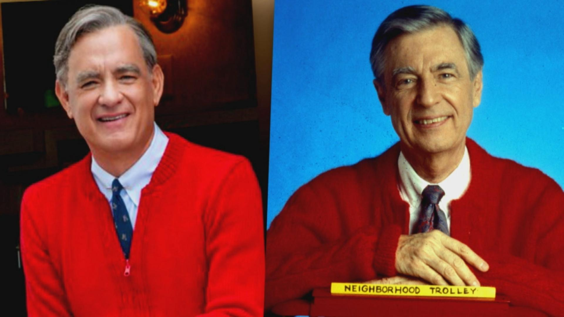 Tom Hanks Takes On Neighborly Role As Fred Rogers In First Photo From New Biopic Inside Edition