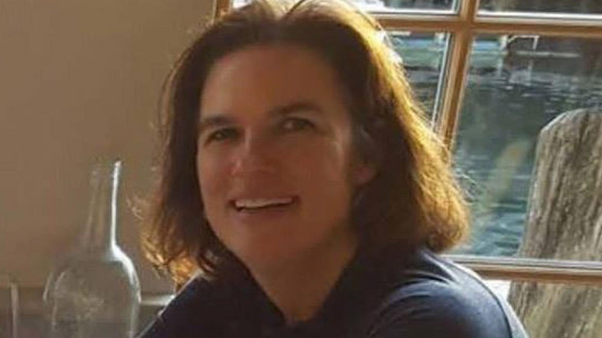 The body of Kristin Westra, 47, was found Friday in a wooded area between Gray and Lufkin roads in North Yarmouth, the Cumberland County Sheriff's Office said.