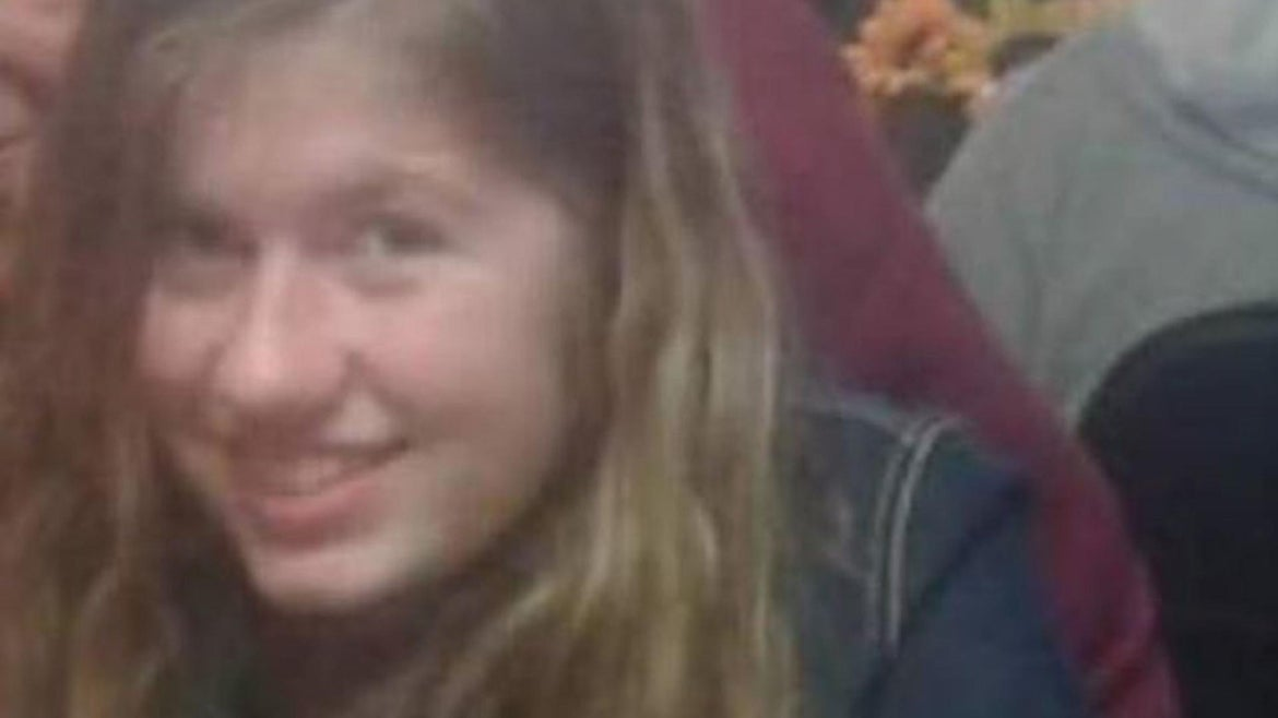 """Jayme Closs, a """"sweet, quiet"""" teen with strawberry blond hair and green eyes, vanished on Monday, authorities said."""