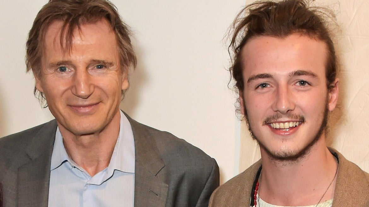 Liam Neeson and his son Micheal
