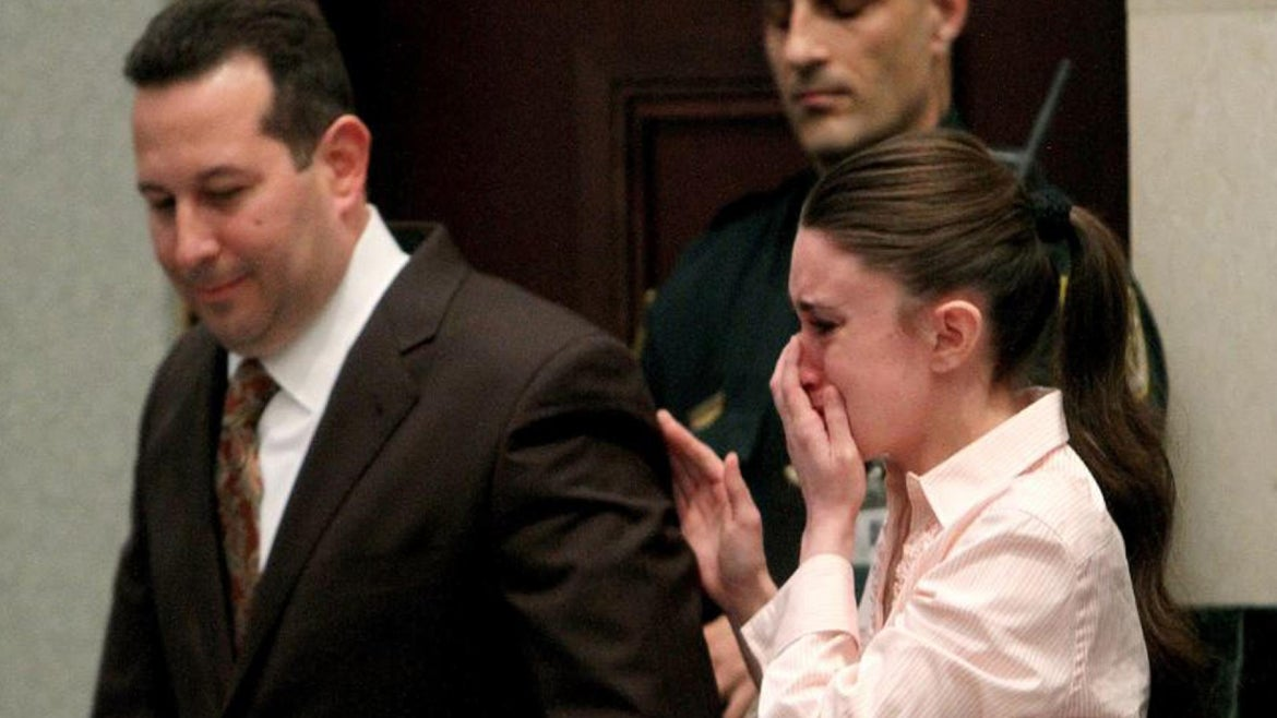 Casey Anthony's father reacts to report she wants to have more children.