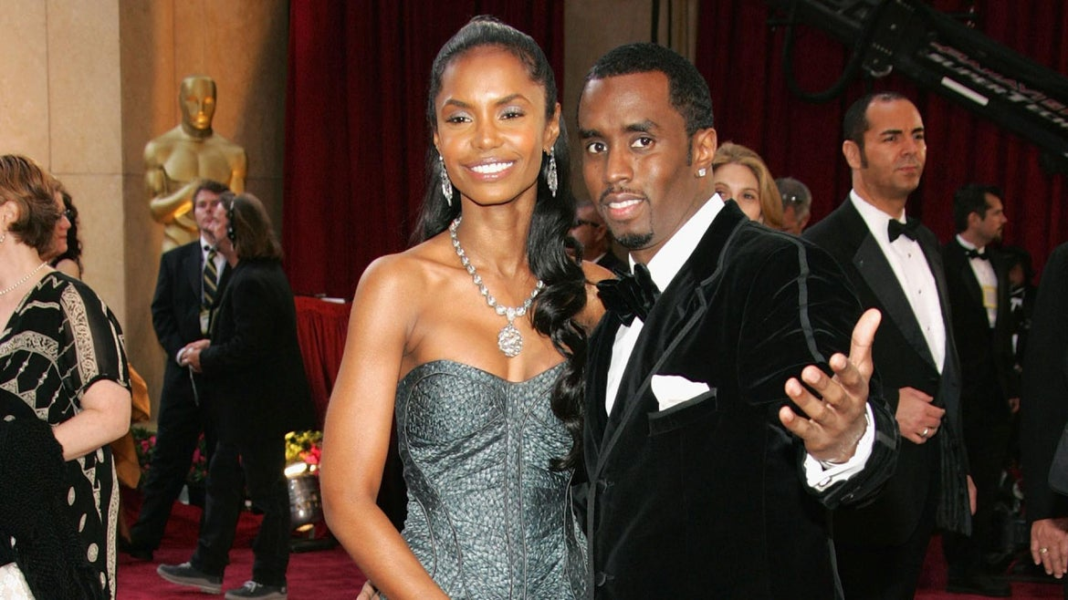 Sean Diddy Combs and Kim Porter