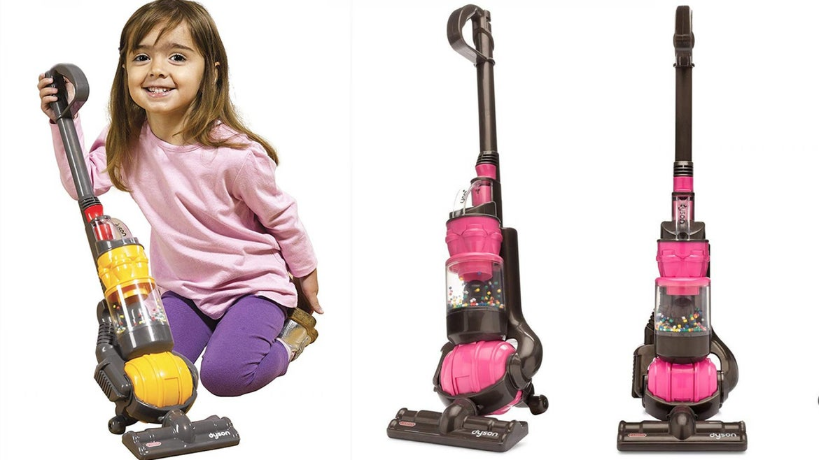 Dyson's new vacuum cleaner is suitable for kids 3 and older.