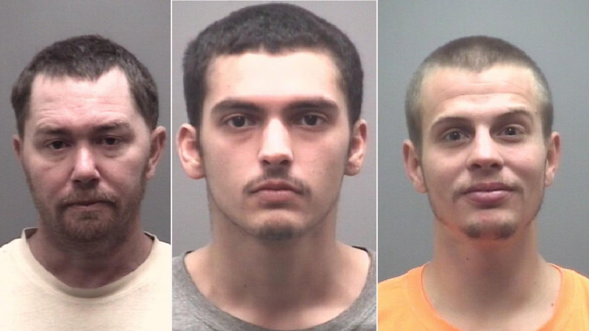 Sean Castorina, Shannon Gurkin, and Dakota Marek were all arrested in connection with the alleged crime.