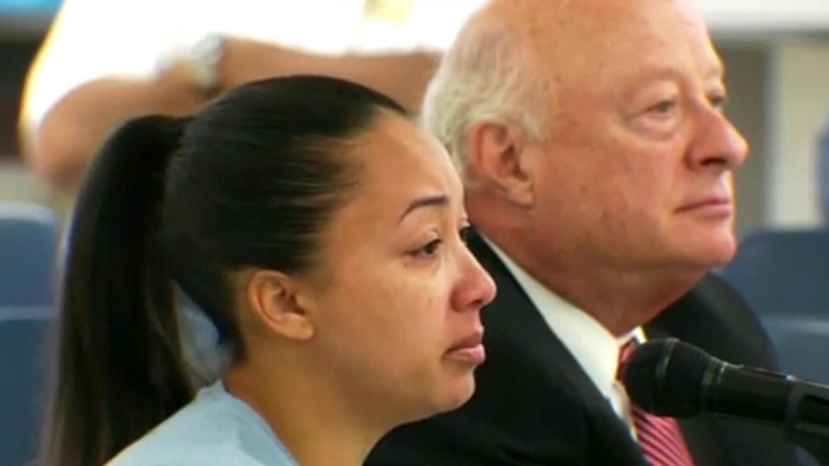 Cyntoia Brown was convicted of first-degree murder at 16 years old.