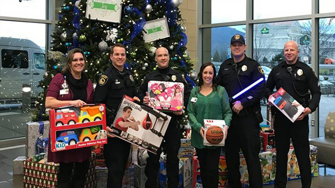 An Idaho police department collected $20,000 worth of toys for kids.