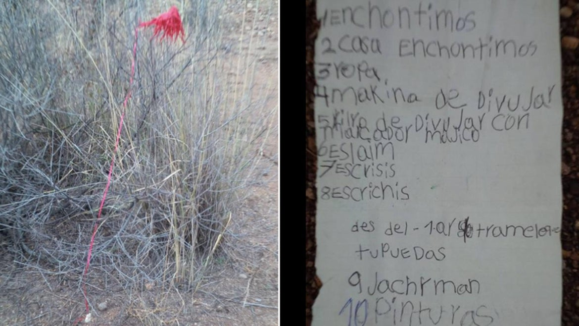 An Arizona man bought Christmas gifts for a little girl across the border after finding her letter to Santa.