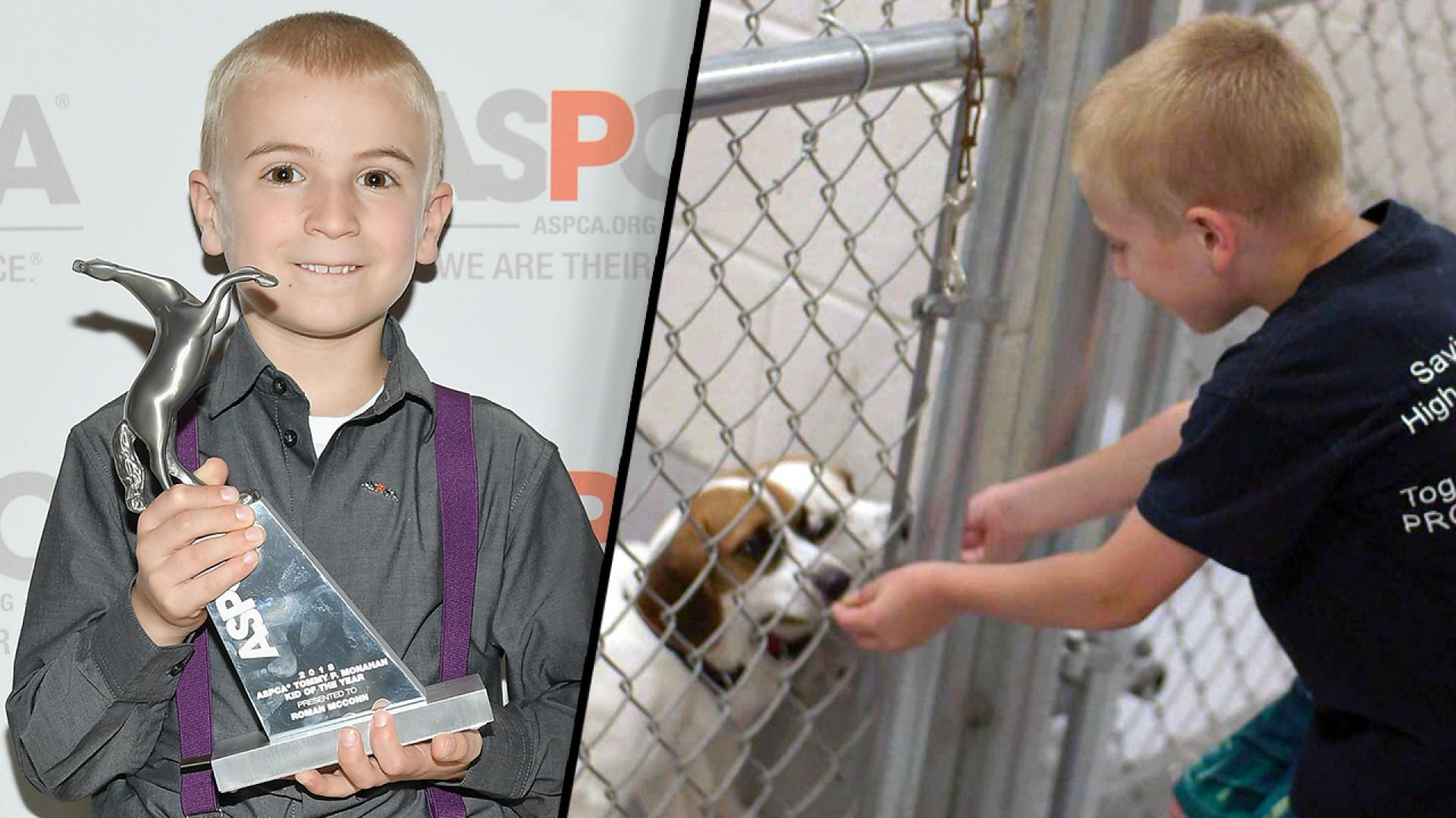 7-Year-Old Wins ASPCA Kid of the Year After Rescuing More Than ...