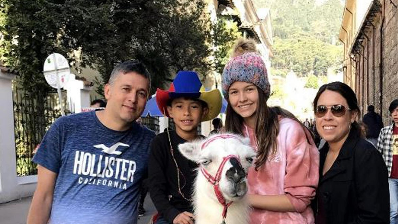 The Paz family.