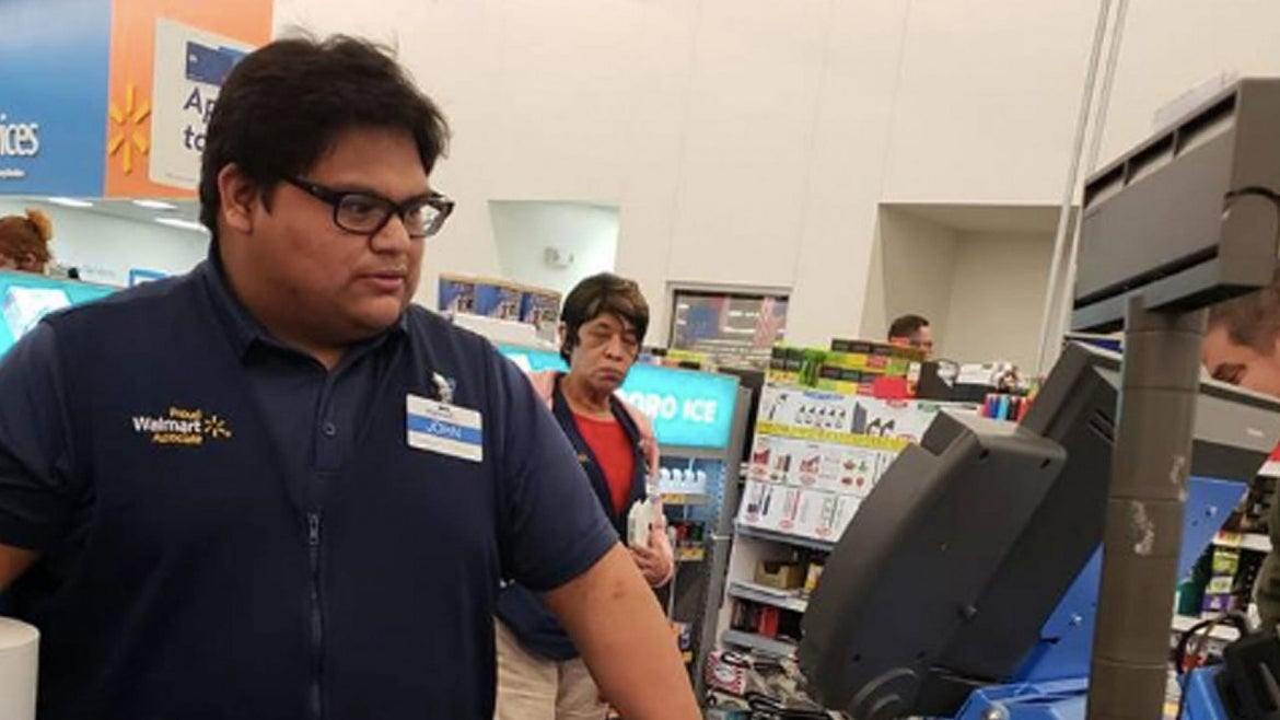 John Lopez Jr. helped a woman in need