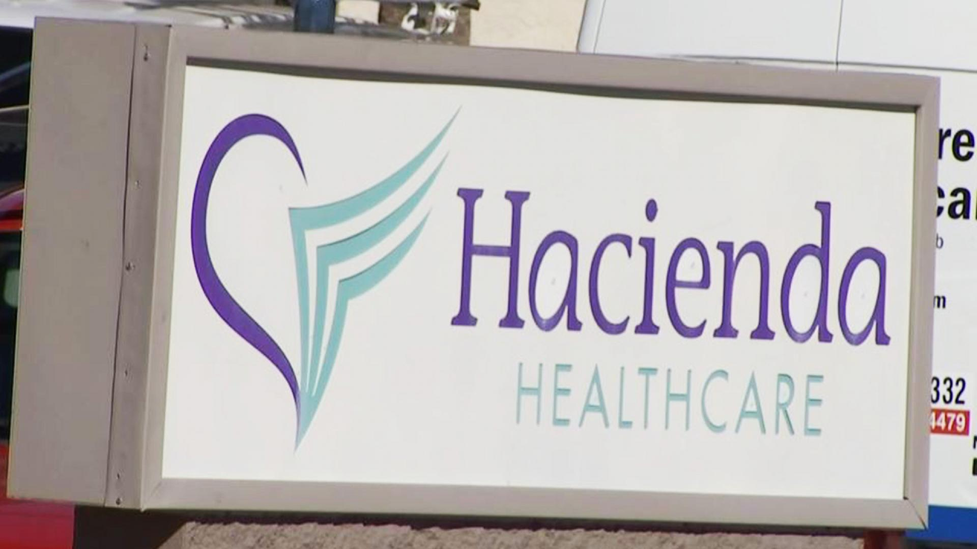 A nurse at Hacienda Healthcare desperately asked for instructions from a 911 operator.