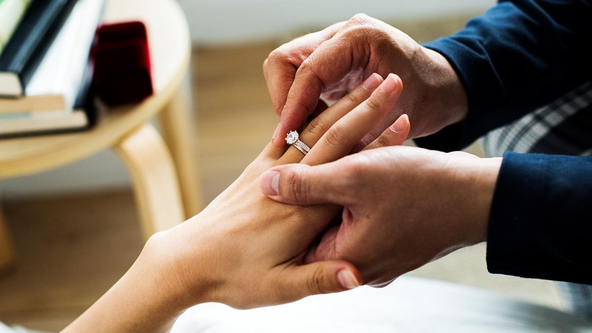 A man blamed Ambien for his impromptu proposal.