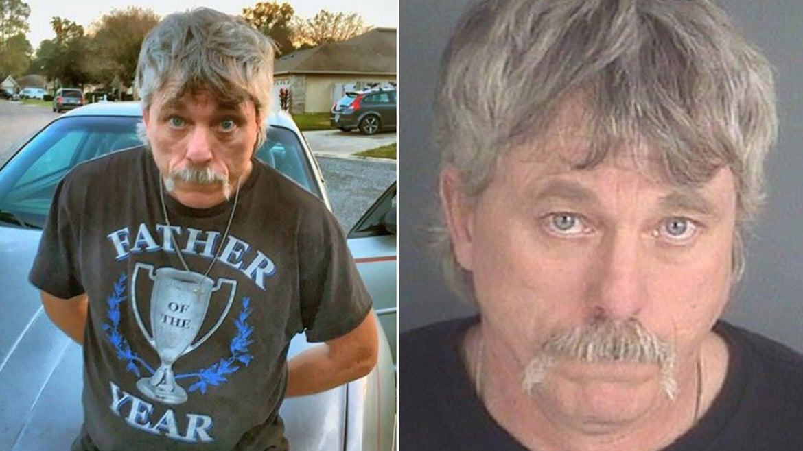 Clarence William Sheese, 50, was taken into custody in Clay County after the U.S. Marshal's Service and Clay County Sheriff's Office received a tip he was living at a home in the area.