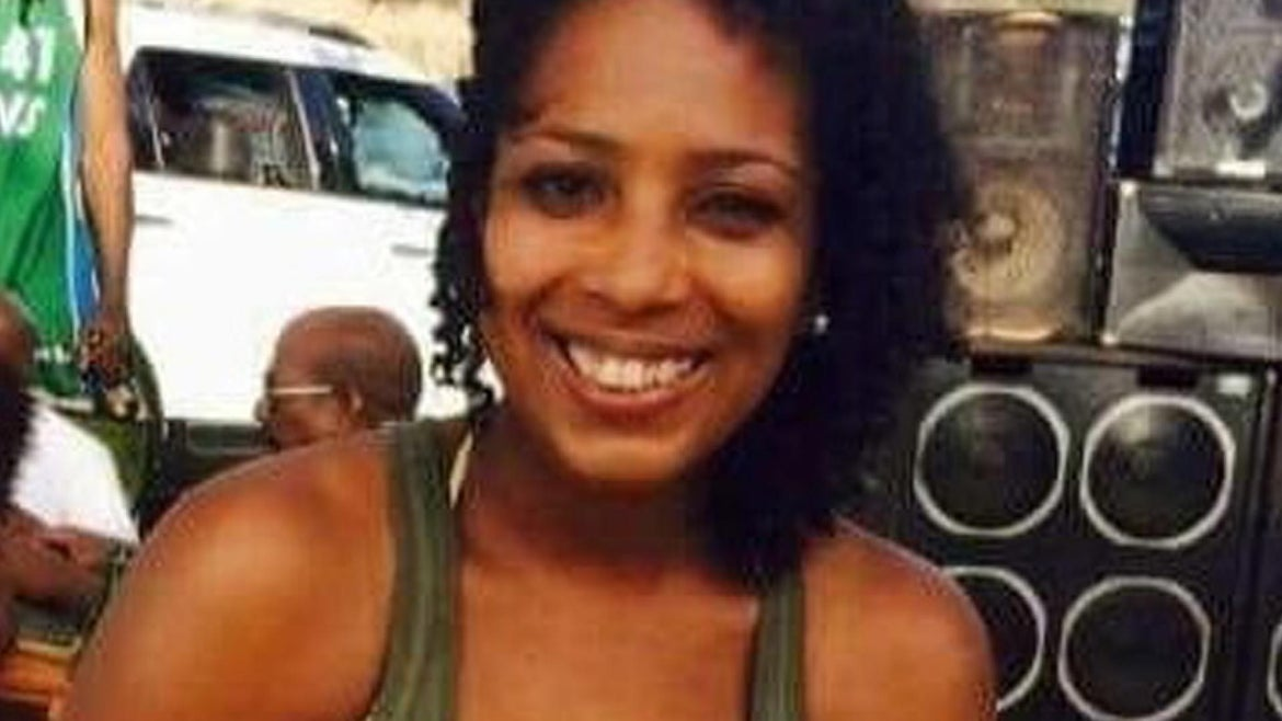 Tamla Horsford, 40, was found Nov. 4 face down and unresponsive in the backyard of the home of friend who was throwing an overnight party, authorities said.