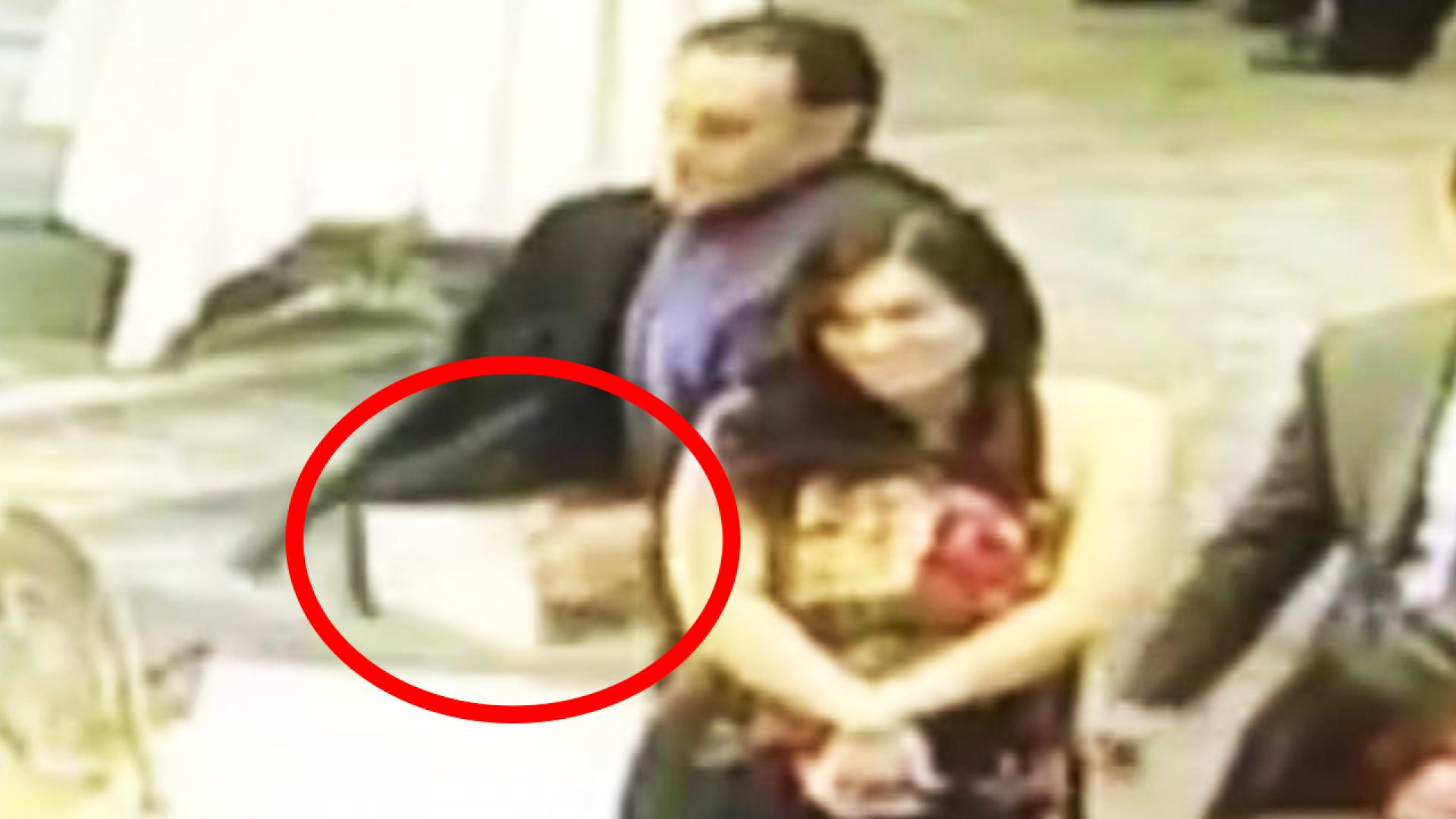 Real Life Wedding Crasher Caught Stealing Gifts During Reception