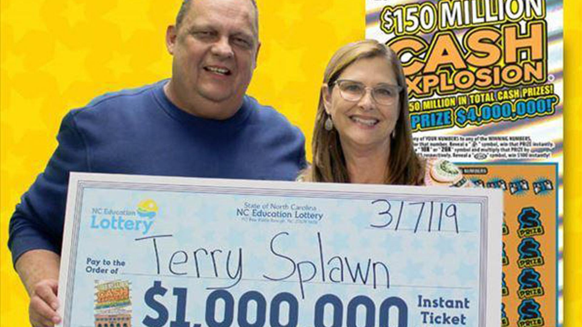 North Carolina man wins lottery twice at the same store.