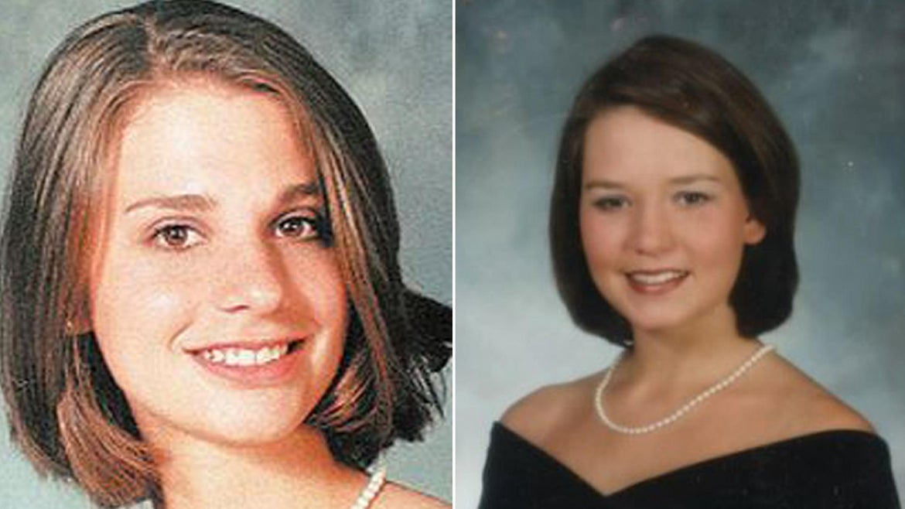 Tracie Howlett, left, and J.B. Beasley, were killed in 1999.