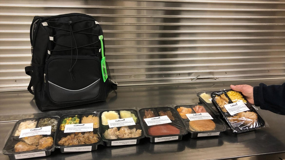 The meals will be given out to 20 students.