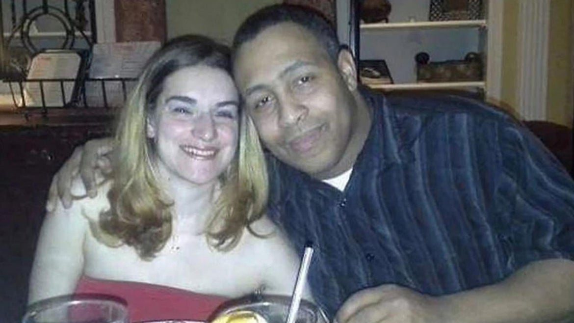 Jeanine Cammarata and her husband, Michael, in happier times.