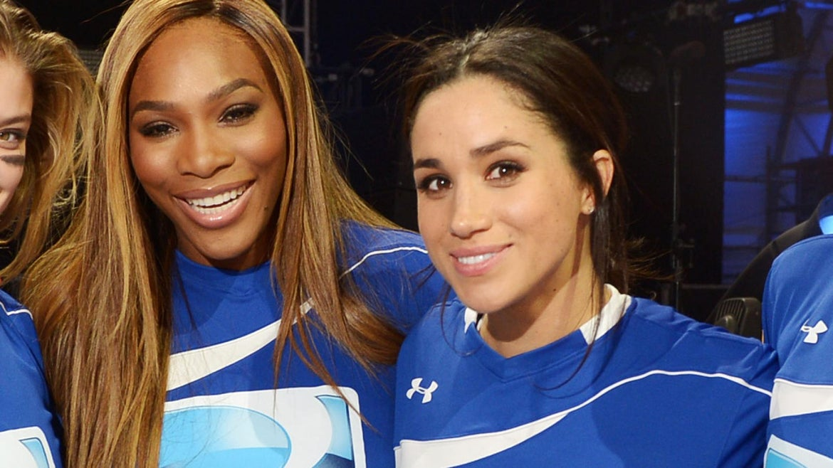 Serena Williams May Have Let It Slip That the Royal Couple is Having a Girl