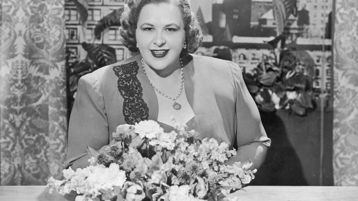"""Kate Smith's """"God Bless America"""" is a classic, but now it's being banned by some sports teams."""