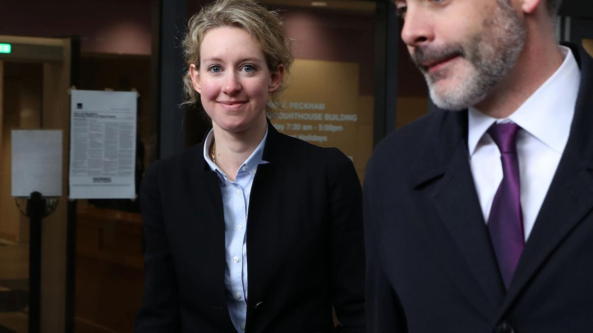 Disgraced Theranos founder Elizabeth Holmes is due in a California federal court Monday on charges offraud and conspiracy.