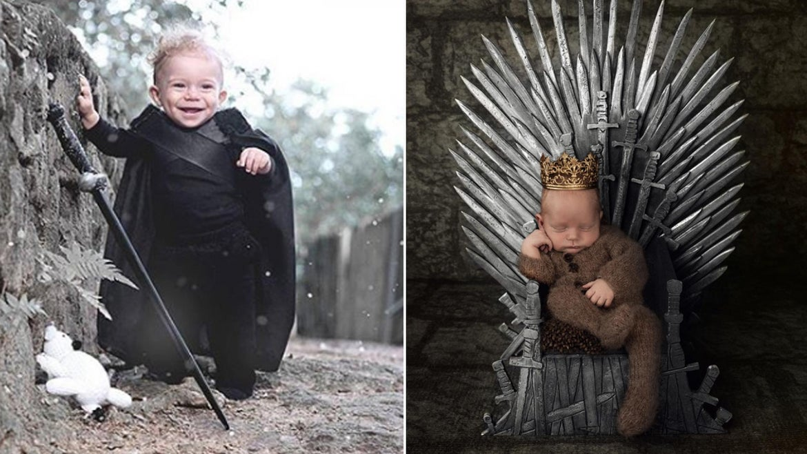 """The babies are in the """"Game of Thrones"""" Spirit."""