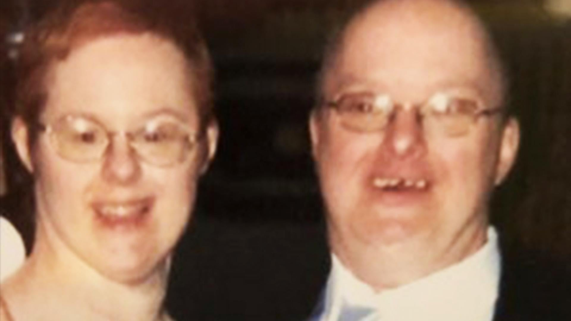Paul DeForge, of Syracuse, New York, is seen in a photo with his wife, Kris Scharoun-DeForge.