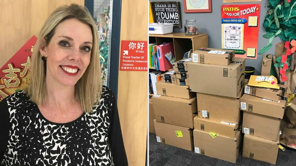 Teacher Elisabeth Milich posted her meager salary online and ignited a firestorm.