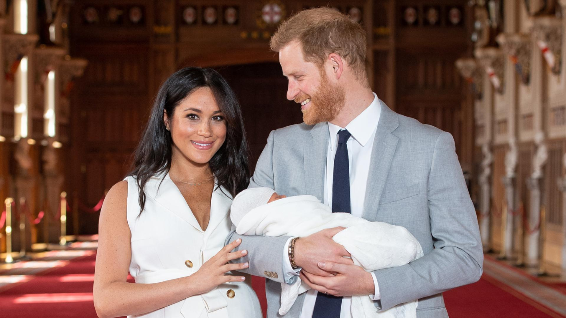 Meghan and Harry introduce baby Archie Harrison to the world