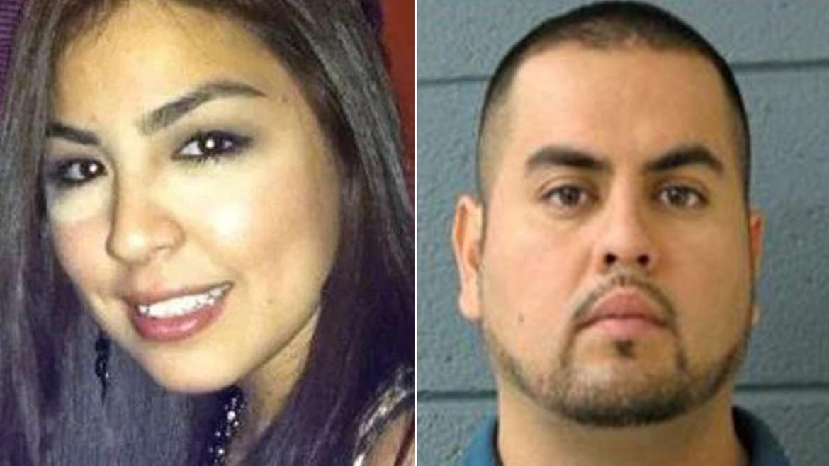 A Chicago man is wanted for the killing of his wife on their wedding day.